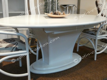 Table ovale MILAN fixe